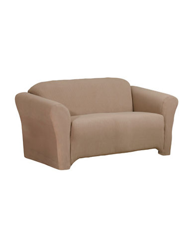 Sure Fit Surefit Diamond Stretch Sofa Slipcover-MINK-One Size