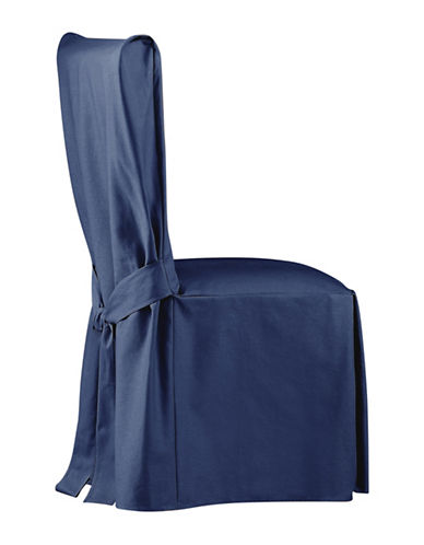 Sure Fit Surefit Duck Dining Chair Slipcover-INDIGO-One Size