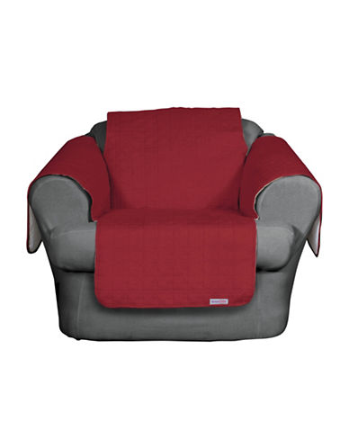 Sure Fit QuickCover Premium Microsuede Chair Protector-MERLOT-One Size