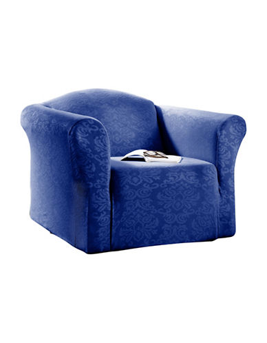 Sure Fit Surefit Damask Stretch Chair Slipcover-MONACO-One Size
