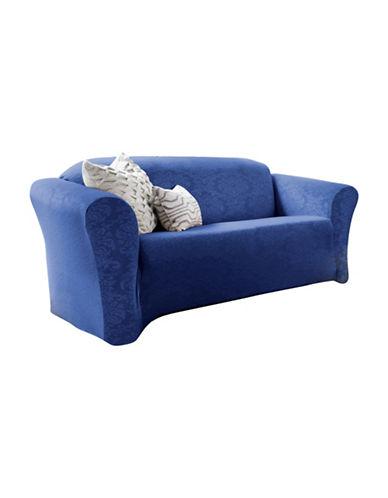 Sure Fit Surefit Damask Stretch Sofa Slipcover-MONACO-One Size