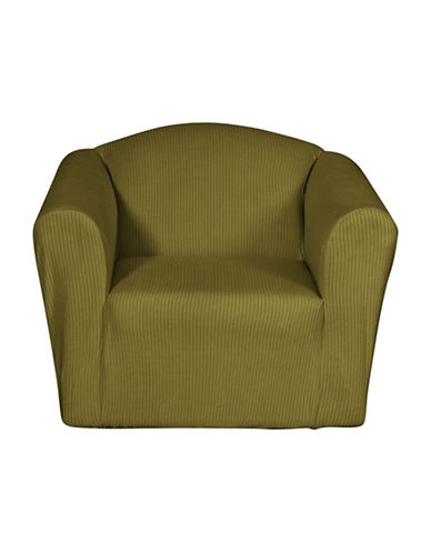 Sure Fit Montgomery One-Piece Stretch Chair Slipcover-MOSS-One Size