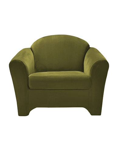 Sure Fit Surefit Eastwood Two-Piece Chair Slipcover-MOSS-One Size