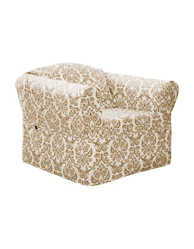 Sure Fit Surefit Chelsea Chair Slipcover-BONE-One Size