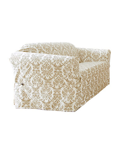 Sure Fit Surefit Chelsea Loveseat Slipcover-BONE-One Size