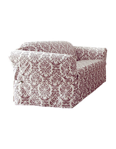 Sure Fit Surefit Chelsea Loveseat Slipcover-BOYSENBERRY-One Size