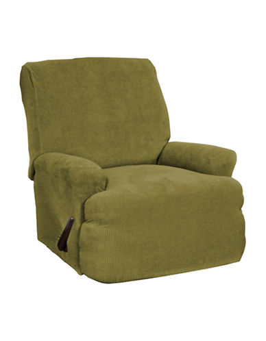 Sure Fit Montgomery Four-Piece Stretch Recliner Slipcover-MOSS-One Size