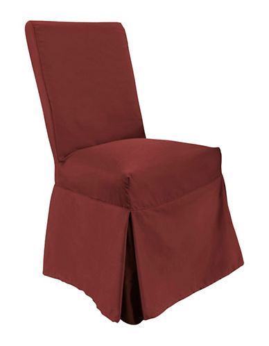 Sure Fit Muskoka One-Piece Dining Slipcover-RED-One Size