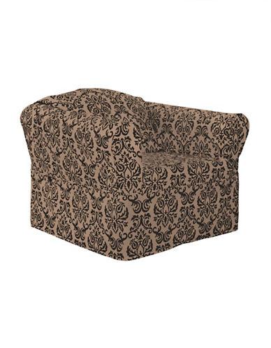 Sure Fit Surefit Chelsea Chair Slipcover-BLACK-One Size