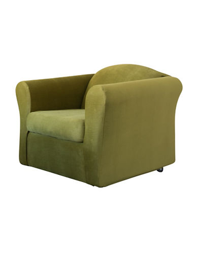 Sure Fit Jagger Stretch Two-Piece Chair Slipcover-MOSS-One Size