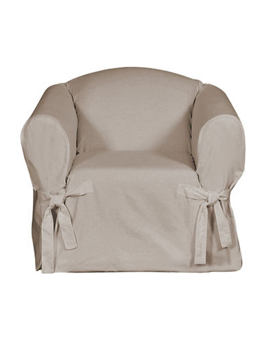 Sure Fit Surefit Duck Chair Slipcover-LINEN-One Size