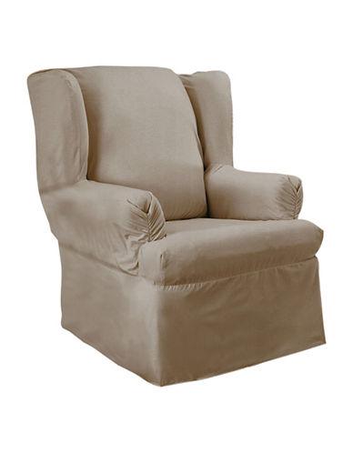 Sure Fit Surefit Duck Wing Chair Slipcover-LINEN-One Size