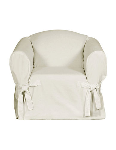 Sure Fit Surefit Duck Chair Slipcover-NATURAL-One Size
