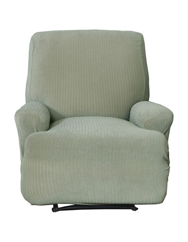 Sure Fit Spencer One-Piece Stretch Recliner Slipcover-SAGE-One Size