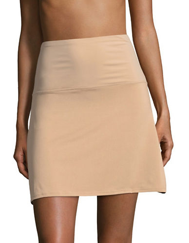 Elita Tummy Shaper Half Slip-BEIGE-Small