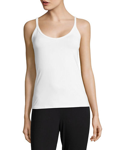 Elita Full Shaper V-Neck Half Slip-WHITE-Medium