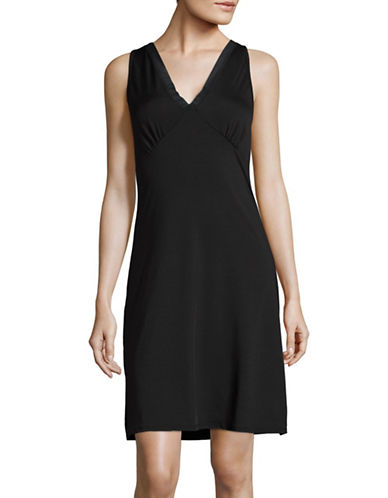 Elita Mesh Trim Full Slip-BLACK-Large