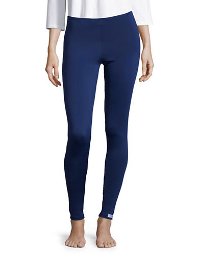 Elita Fleece-Lined Leggings-BLUE-Medium