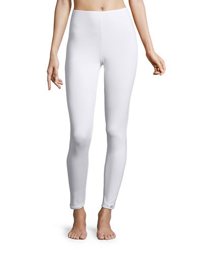 Elita Fleece-Lined Leggings-WHITE-Small