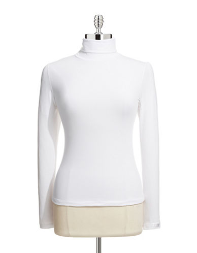 Elita Turtleneck Pullover-WHITE-Medium