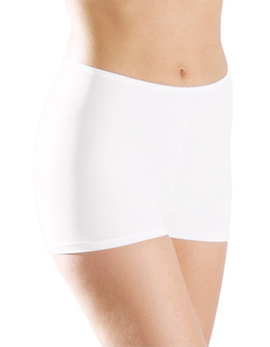 Elita Silk Magic Microfiber Boyshort 8862-WHITE-Large