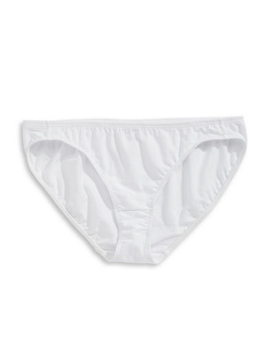 Elita Bikini Briefs-WHITE-Medium
