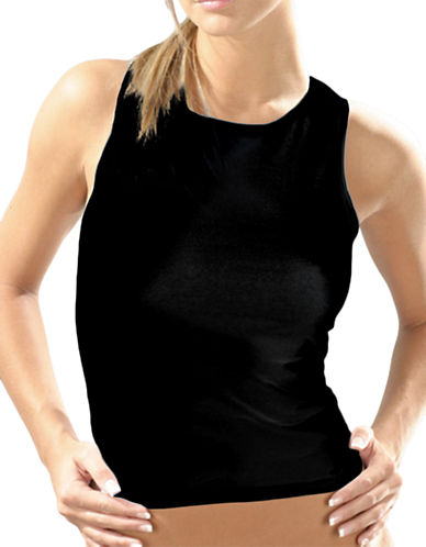 Elita Basically Cotton Built Up Camisole Style 4353-BLACK-Small