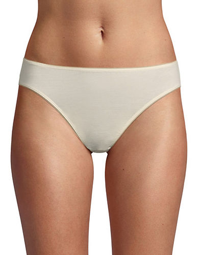Elita Bamboo Rayon High Cut Briefs-NATURAL-Large