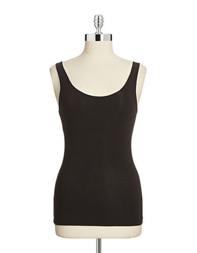 Elita Bamboo Built-In Bra Tank-OXFORD-Large