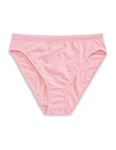 Elita High-Cut Stretch Panty-PINK-Small