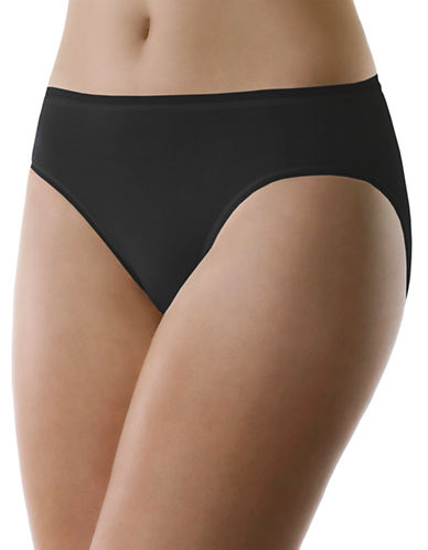 Elita Hi-Cut Briefs-BLACK-Medium