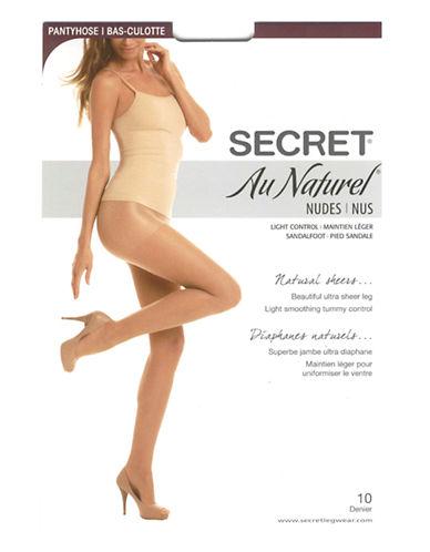 Secret Hosiery Secret Au Naturel Nudes-BLACK-B