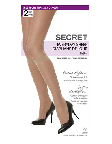 Secret Hosiery Secret Everyday Sheer-NUDE-1