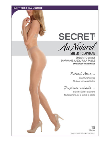 Secret Hosiery Secret Au Naturel Sheer-NUDE-B