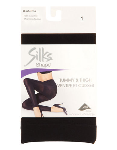 Silks Multi-Shaping Legging-BLACK-4