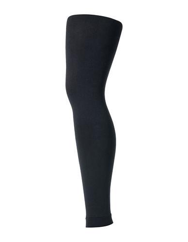 Secret Hosiery Fleece-Lined Leggings-BLACK-C/D