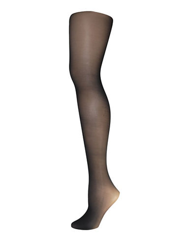 Secret Hosiery Run-Resistant Durable Tights-BLACK-D
