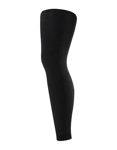 Secret Hosiery Velvet Plush Leggings-BLACK-C/D