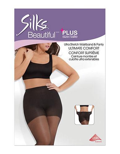 Silks Plus Ultra-Strech Waistband and Panty Ultimate Comfort-BEIGE-4X