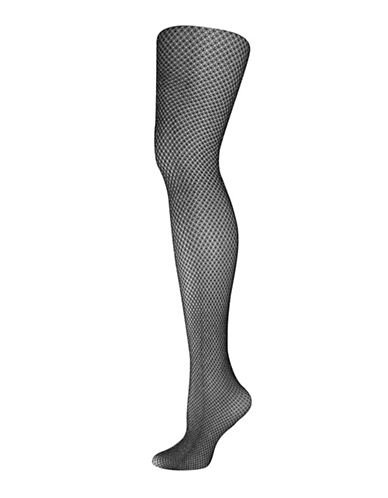 Silks Honeycomb Crochet Tights-SILVER-2