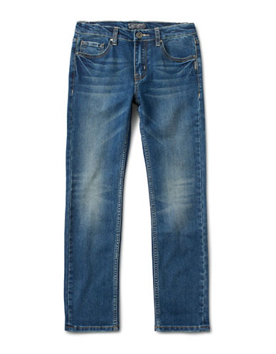 Silver Jeans Kids Cairo 1067 Skinny Jeans-BLUE-5