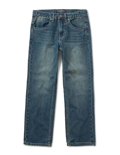 Silver Jeans Kids Garret 1075 Loose-Fit Jeans-BLUE-8