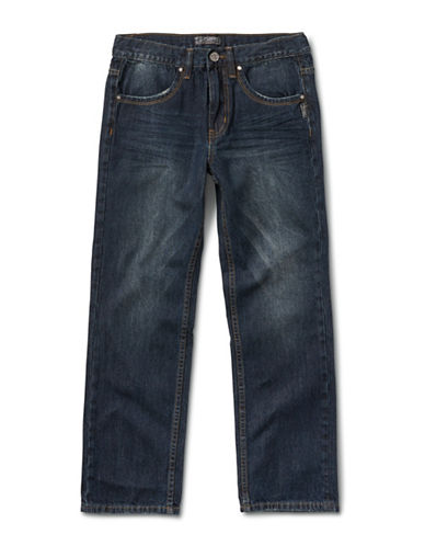 Silver Jeans Kids Garret 1075 Loose-Fit Jeans-BLUE-10