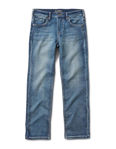 Silver Jeans Benny 1084 Regular-Fit Jeans-BLUE-3T