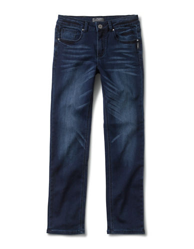 Silver Jeans Kids Nathan 1028 Skinny Jeans-BLUE-16