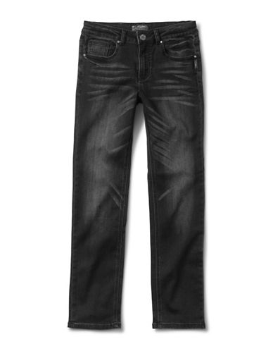 Silver Jeans Kids Nathan 1028 Skinny Jeans-BLACK-10