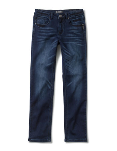 Silver Jeans Kids Nathan 1028 Skinny Jeans-BLUE-7