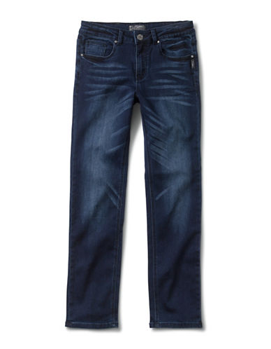Silver Jeans Kids Nathan 1028 Skinny Jeans-BLUE-3T