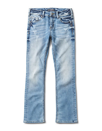 Silver Jeans Kids Tammy 1227 Bootcut Jeans-BLUE-12