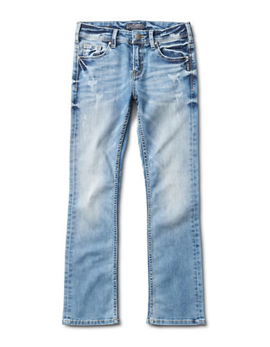 Silver Jeans Tammy 1227 Bootcut Jeans-BLUE-4